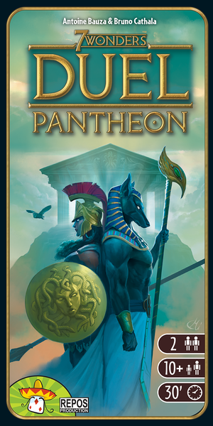 7 wonders duel pantheon expansion board game