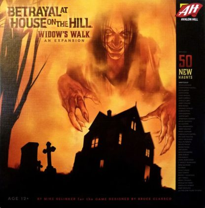Betrayal at house on the hill wodow's walk board game
