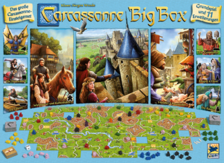 Carcassonne Big Box board game