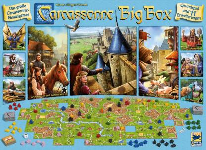 Carcassonne Big Box board game