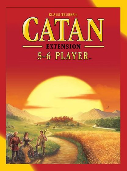 Catan 5-6 player expansion extension board game