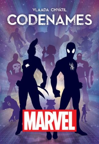 Codenames Marvel board game