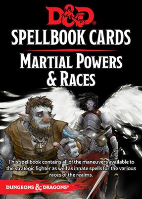 D&D RPG Spellbook Martial Powers & Races