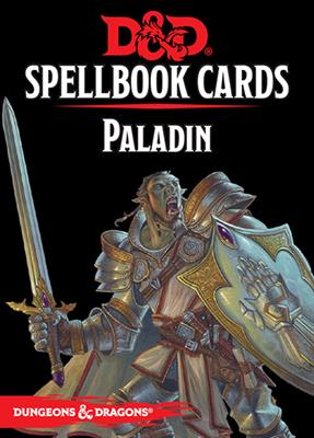 D&D RPG Spellbook Paladin cards