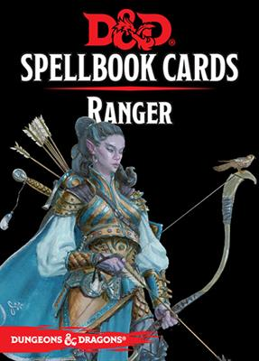 D&D RPG Spellbook Ranger cards