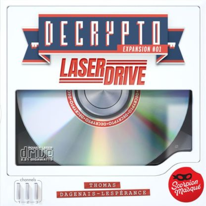 Decrypto laser drive expansion board game