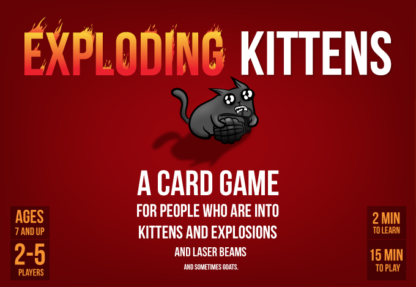 Exploding kittens board game