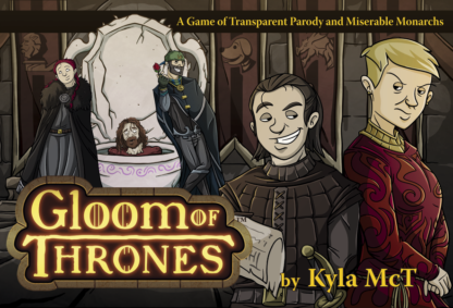 Gloom of thrones board card game