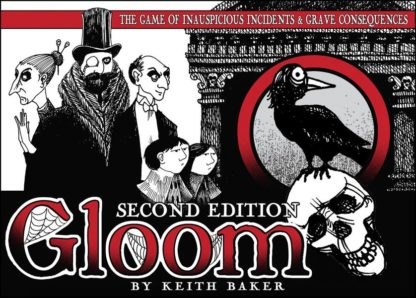 Gloom second edition board card game