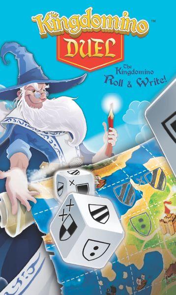 Kingdomino duel board game