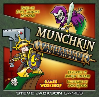 Munchkin warhammer age of sigmar board game