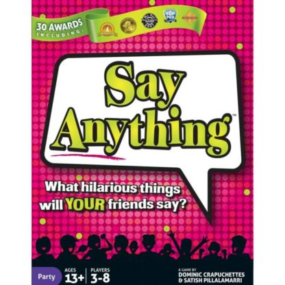 Say Anything party board game