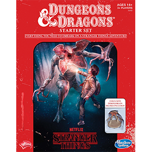 StrangerThings Dungeons and dragons rpg