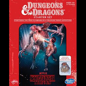 StrangerThings Dungeons and dragons rpg