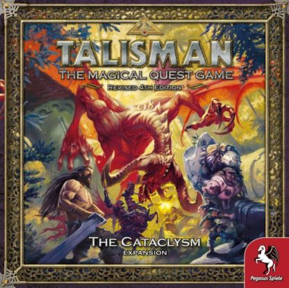 Talisman The Cataclysm Expansion board game