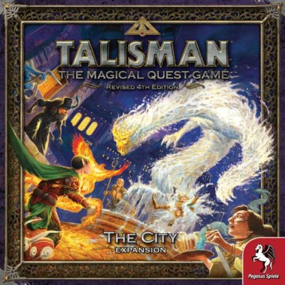 Talisman The City Expansion board game