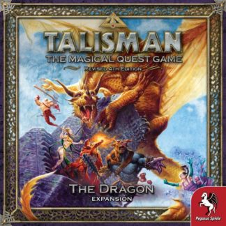Talisman The Dragon expansion board game