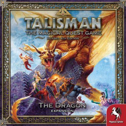 Talisman The Dragon expansion board game