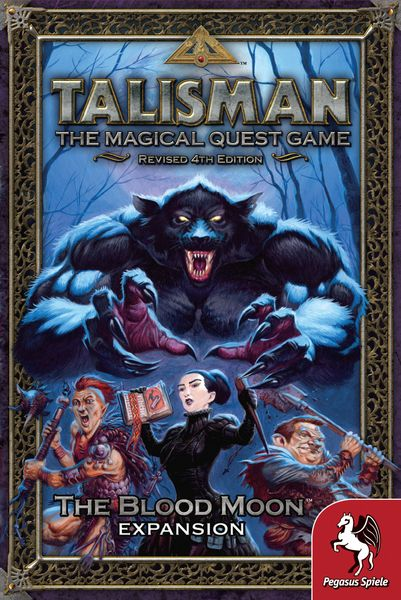 Talisman The blood moon expansion board game