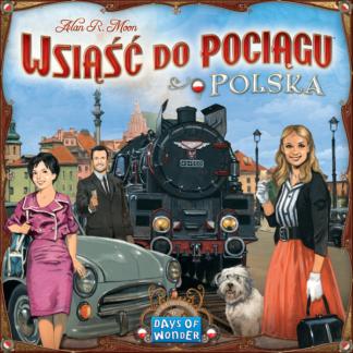 Ticket to ride polska board game