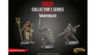 Warforged D&D collector's series miniatures 2