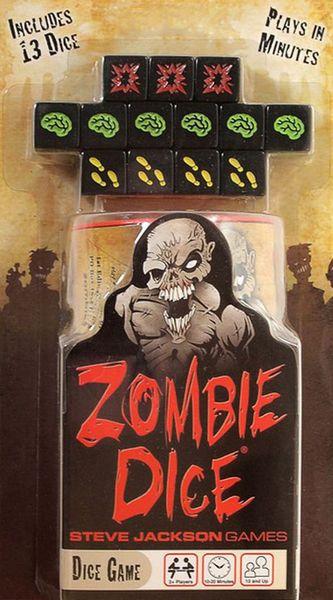 Zombie Dice board dice game