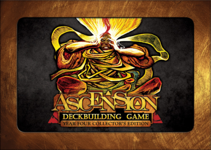 ascension deckbuilding card game year 4 four collector's edition