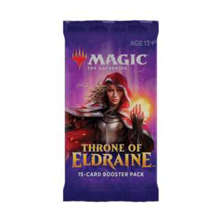 throne of eldraine booster pack for magic the gathering