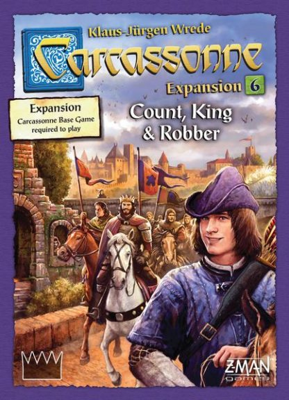 Carcassonne Expansion 6 Count, King & Robber, Z-Man Games board game