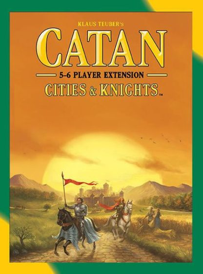 Catan Cities and Knights, Mayfair Games expansion 5-6 player extension