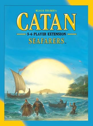 Catan Seafarers 5-6 Player Extension, Mayfair Games board game