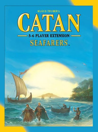 Catan Seafarers 5-6 Player Extension, Mayfair Games board game