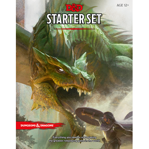 D&D DnD Dungeons and Dragons starter set