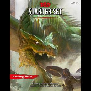 D&D DnD Dungeons and Dragons starter set