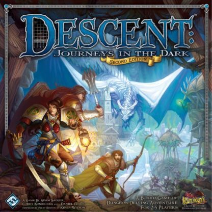 Descent Journeys in the Dark (Second Edition) board game