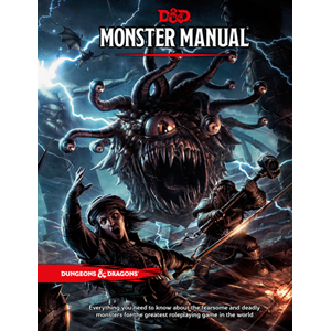 Dungeons and Dragons D&D Monster manual rpg