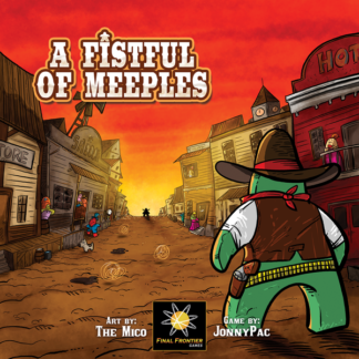 A Fistful of Meeples board game
