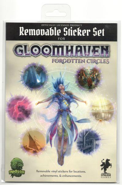 Gloomhaven forgotten circles board game sticker set