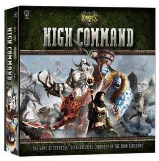 Hordes High Command board card game