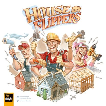 House Flippers Board Game