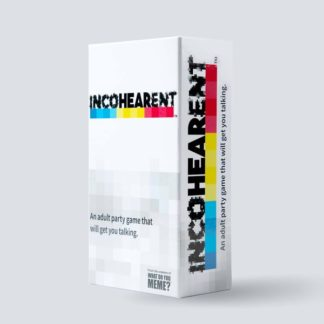 Incohearent board card game