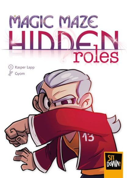 Magic Maze Hidden Roles board game Expansion