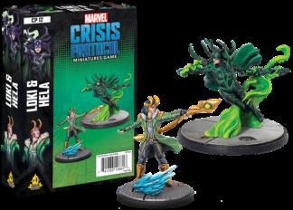 Marvel Crisis Protocol – Loki and Hela board game
