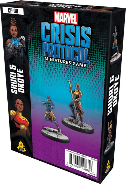 Marvel Crisis Protocol – Shuri and Okoye board game