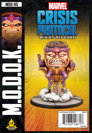 Marvel crisis protocol M.O.D.O.K. expansion board game