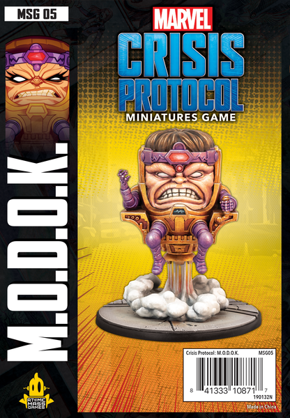 Marvel crisis protocol M.O.D.O.K. expansion board game