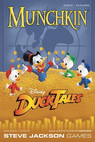 Munchkin Disney DuckTales board card game