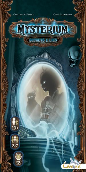 Mysterium Secrets & Lies board game expansion