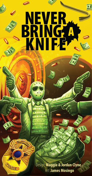 Never Bring A Knife Card Board Game