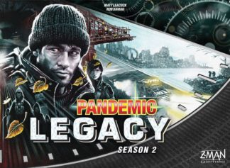 Pandemic Legacy season 2 black box board game